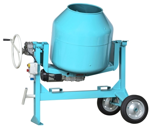 Model Electric concrete mixer C 360 SBL of available Concrete mixers with silent transmission by OMAER