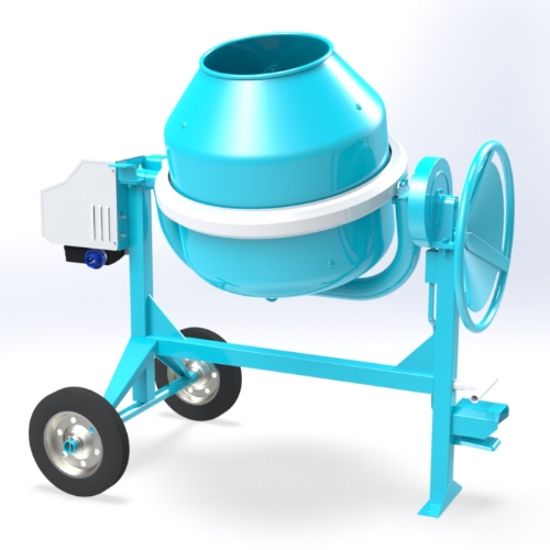 Electric concrete mixer 190 lt - C 250
