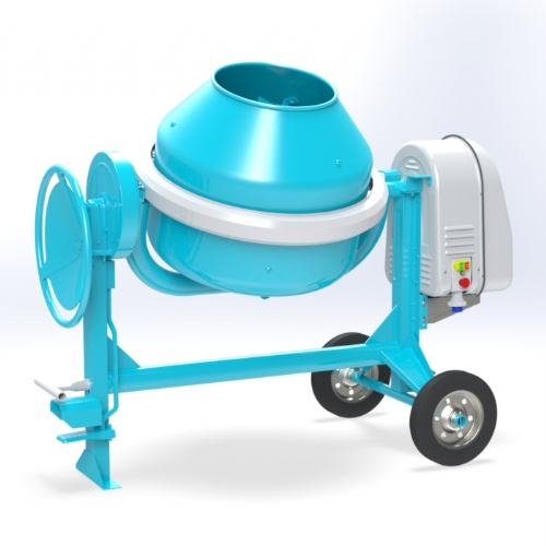 Electric concrete mixer 260 lt - C 320