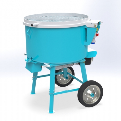 Concrete Pan Mixer 150 lt - C 240 of Mixers by OMAER