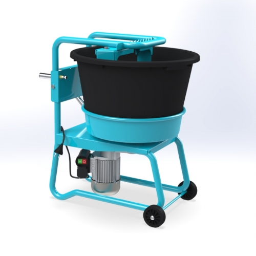Concrete Pan Mixer 40 lt - C 60 of Mixers by OMAER