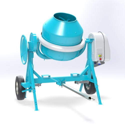 Electric concrete mixer 300 lt - C 360 TT of Concrete mixers Linea Plus by OMAER