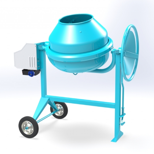 Concrete Mixer 100 lt - C 150-08 of Hobby Concrete Mixers by OMAER