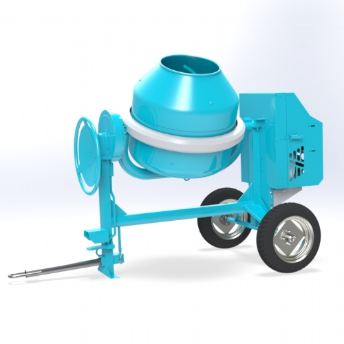 Concrete mixer (Diesel / Gasoline) 300 lt -  C 360 2RP of Concrete mixers Linea Plus by OMAER