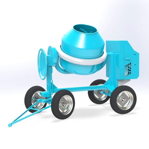 Concrete Mixer (Diesel / Gasoline) 300 lt - C 360 4RP of Concrete mixers Linea Plus by OMAER